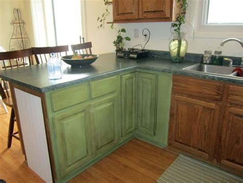 Green Kitchen With Oak Cabinets white kitchen cabinets green walls home design ideas