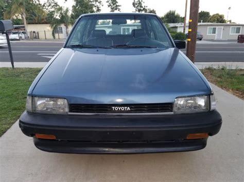 1988 toyota corolla fx 1988 toyota corolla fx 1 owner