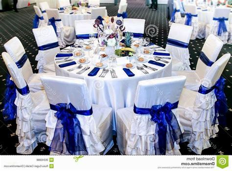 Light blue and silver wedding decorations elegant 2013