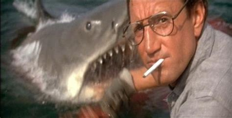 jaws head in boat jaws 1975 did you know during a set visit george lucas
