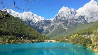 Blue moon valley is on yunnan s jade dragon snow mountain by all