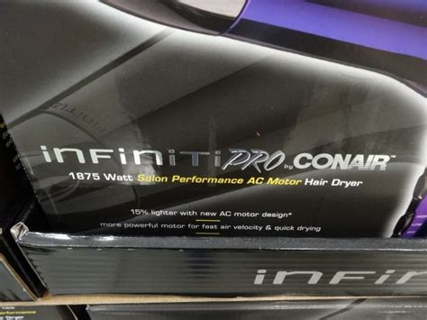 Conair Hair Dryer Costco conair infinity pro hair dryer