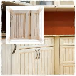 Bead Board Kitchen Cabinets White Beadboard Kitchen Cabinets Are Fantastic