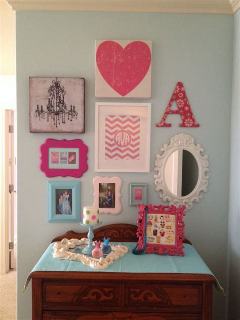 girls room gallery wall gallery wall ideas