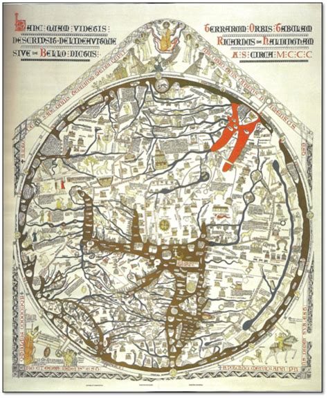 Its Unrealistic To Expect 100 Unconditional Unless Youre My Cat by 226 Title The Hereford Mappamundi Date Ca 1290 A D