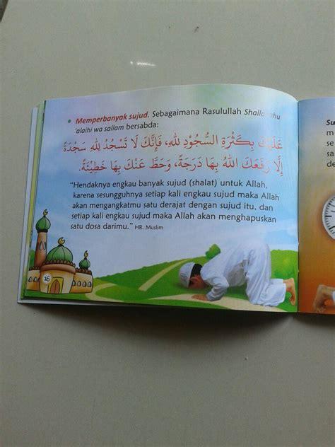 Buku Saku Shalat Lebih Baik Daripada Tidur Pustaka Ibnu Umar buku saku anak wahai adik adik cintailah allah ta ala