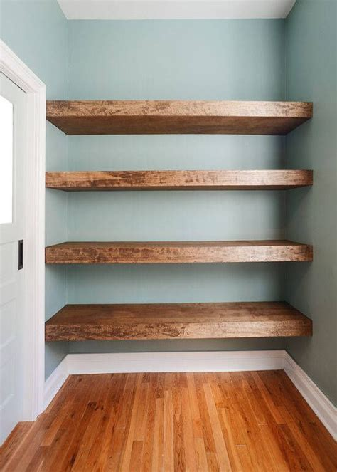 floating shelves homeintheheights 17 best ideas about wood floating shelves on pinterest