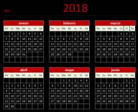 Calendario 2018 Guatemala Descarga Tu Calendario 2018 En Excel Aplica Excel