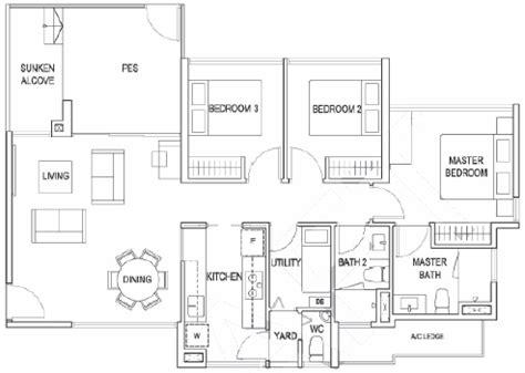St Regis Residences Floor Plan Lush Acres Sengkang Executive Condo