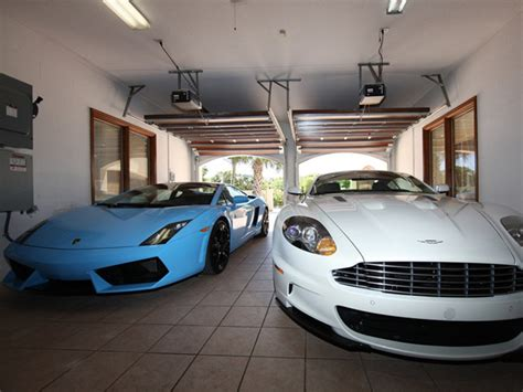 Garage Of Cars by Wondered Where Billionaires Park Their Supercars