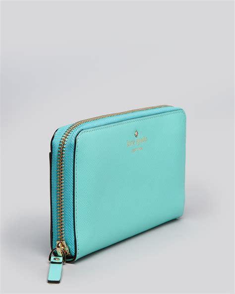 Kate Spade Wallet lyst kate spade new york wallet mikas pond in blue