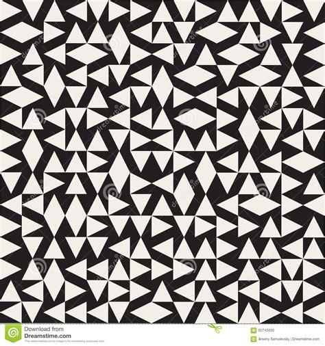 geometric pattern random vector seamless black and white ethnic geometric random