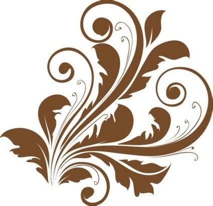 Wedges N Bunga Flower Floral 1 vector decorative floral design vector free vector