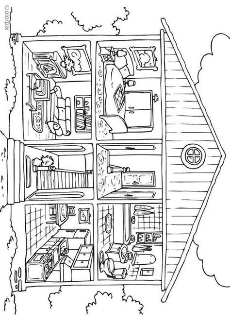 home design coloring book coloring page house interior coloring picture house