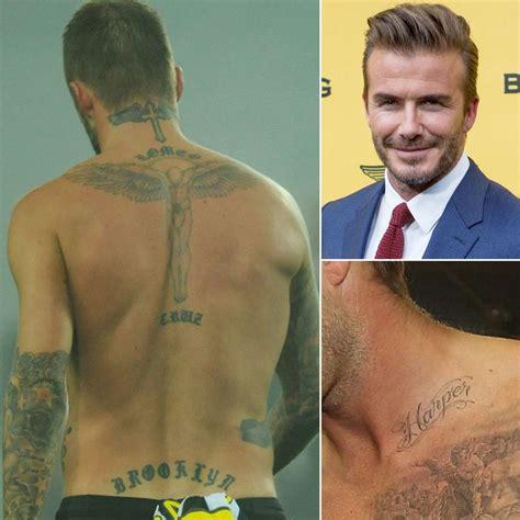 david beckham tattoo guide 17 best ideas about david beckham tattoos on pinterest