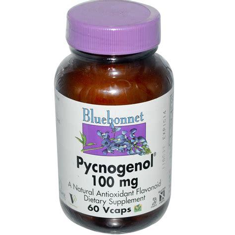 Extension Pygnogenol 100mg 60 Caps bluebonnet nutrition pycnogenol 100 mg 60 vcaps iherb