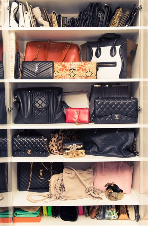 how to organize purses in the closet 25 changing ways to organize your purses closetful
