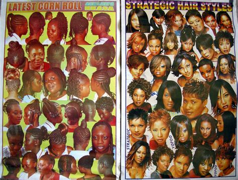 posters of hair braiding styles for hair salon 8 things that always happen at african hairdressers