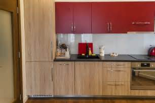 Kitchen Cabinet Designs by Kitchen Cabinet Design With Light Wooden Floor Ideas For