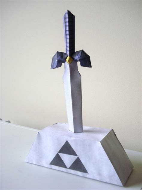 Papercraft Swords - master sword papercraft by lya yuki on deviantart