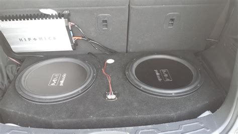 Kia Soul Subwoofer Custom Subwoofer Box Car Interior Design