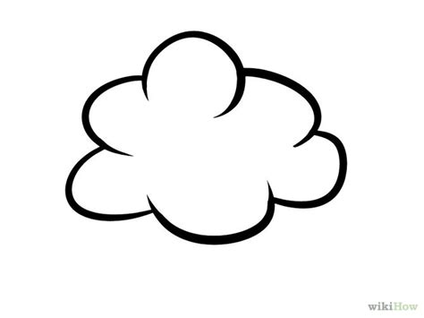 drawings of clouds simple how to draw clouds 11 steps with pictures wikihow