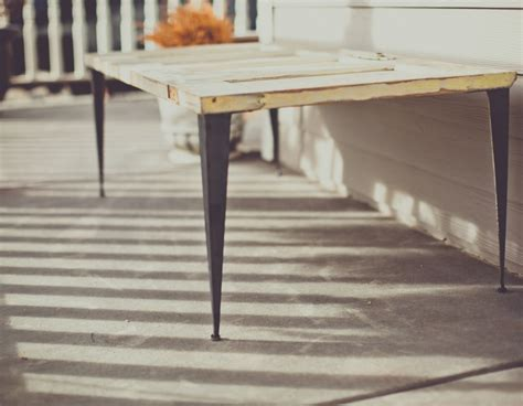 diy tapered table legs tapered angle iron metal table legs
