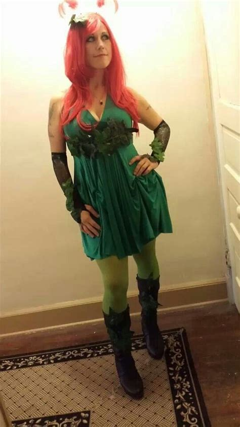 Handmade Poison Costume - pin poison costume on