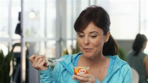 nespresso commercial actress blonde dole fruit bowls tv spot drain it or drink it ispot tv