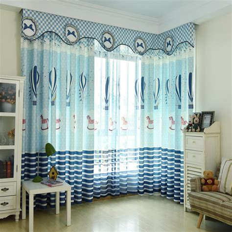 kids curtain valance cute blue fish mediterranean kids curtains without valance