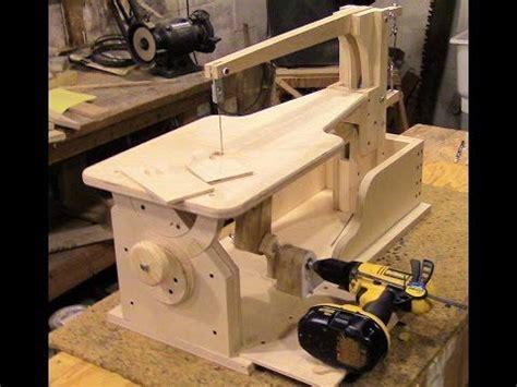 assemble  drill powered wooden scroll  part