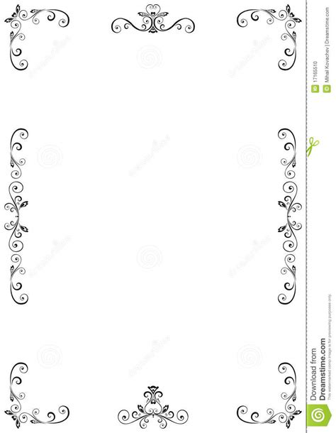 floral frame stock vector image of decorative emblem