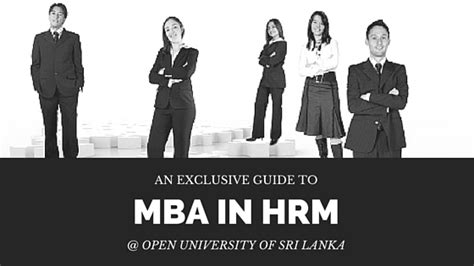 Mba In Hrm In Colombo mba in hrm offered by the open of sri lanka