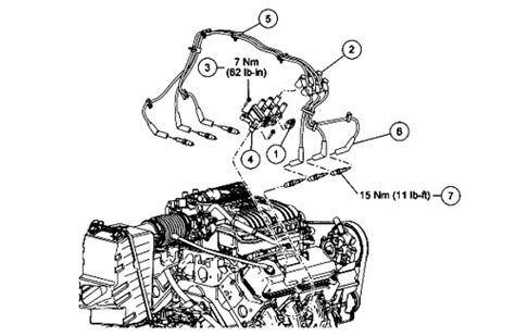 2002 ford taurus spark wire diagram 2002 free