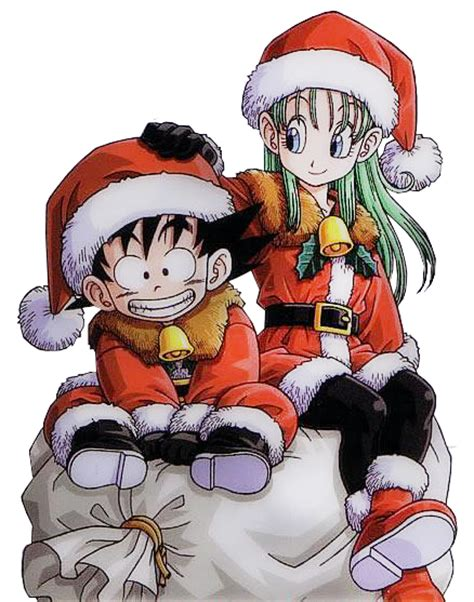 dragon ball z christmas wallpaper db xmas dragon ball females fan art 33147986 fanpop