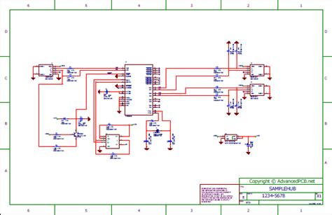 usb hub schematic usb hub wiring schematic archives