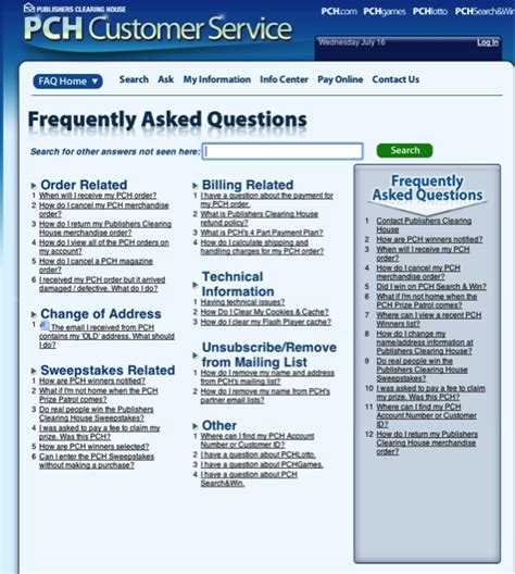 Pch Customer Service Website - how do i contact publishers clearing house pch blog