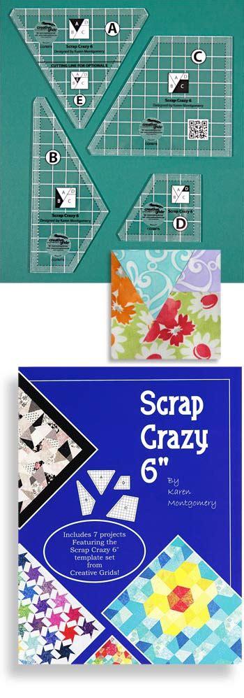 creative grids scrap template creative grids 174 non slip scrap 6 template by