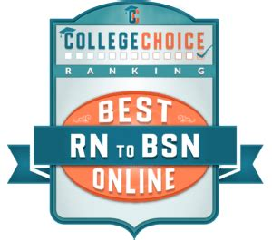 Bsn Mba Degree by 50 Best Rn To Bsn Degrees For 2017