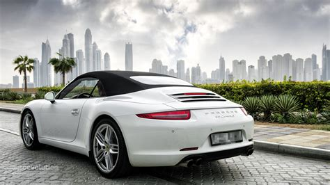 porsche 911 convertible porsche 911 carrera s cabriolet review autoevolution