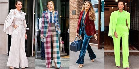 call blake lively   pantsuit connoisseur