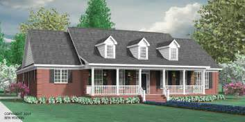 Southern Style House Plans With Porches houseplans biz one story house plans page 1