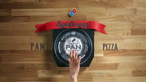 Dominos Handmade Pan - domino s pizza handmade pan pizza tv commercial