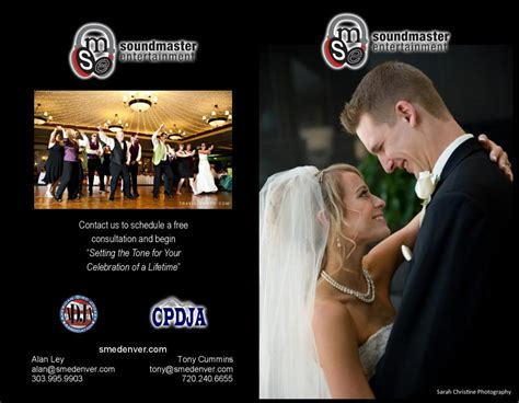 Wedding Dj Brochure by Wedding Network Usa Llc Denver Chapter Optimize Your
