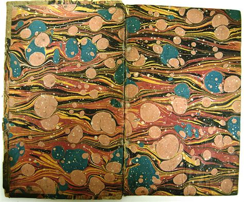 Where Was Paper Marbling Invented - marbling and the library the library