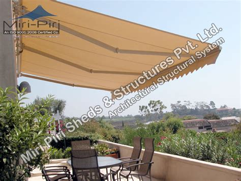 Retractable Awnings India by Mp Retractable Awnings Manufacturers Suppliers