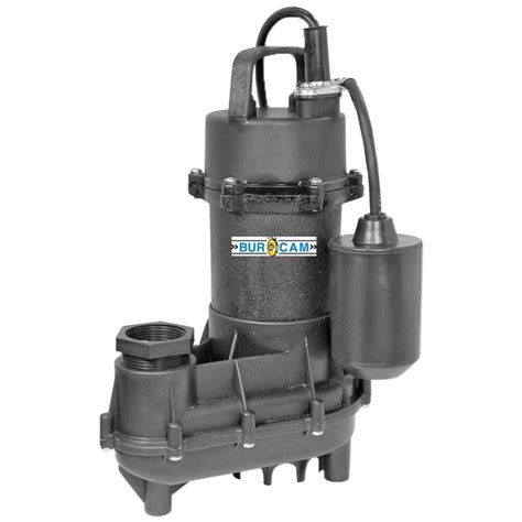 bur 1 2hp submersible effluent sump the home