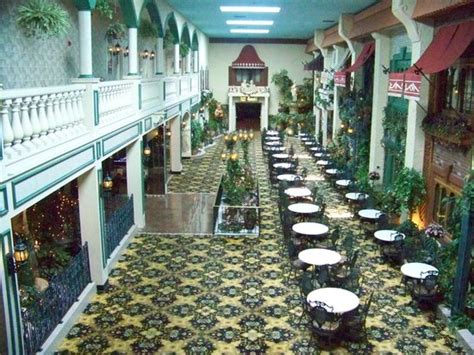 Garden Place Hotel by Atrium From Second Floor Balcony Picture Of Salvatore S