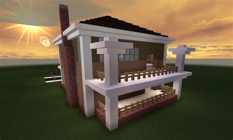 Awesome House Blueprints minecraft huis country house 461 inclusief map en