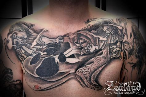 Oriental Tattoo On Chest | japanese tattoo gallery zealand tattoo